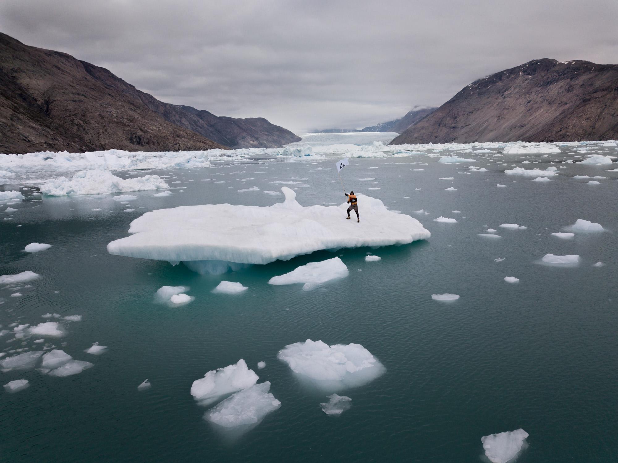 ICEBERG NATION 3 Acción en el paisaje / Proyecto Iceberg Nations
