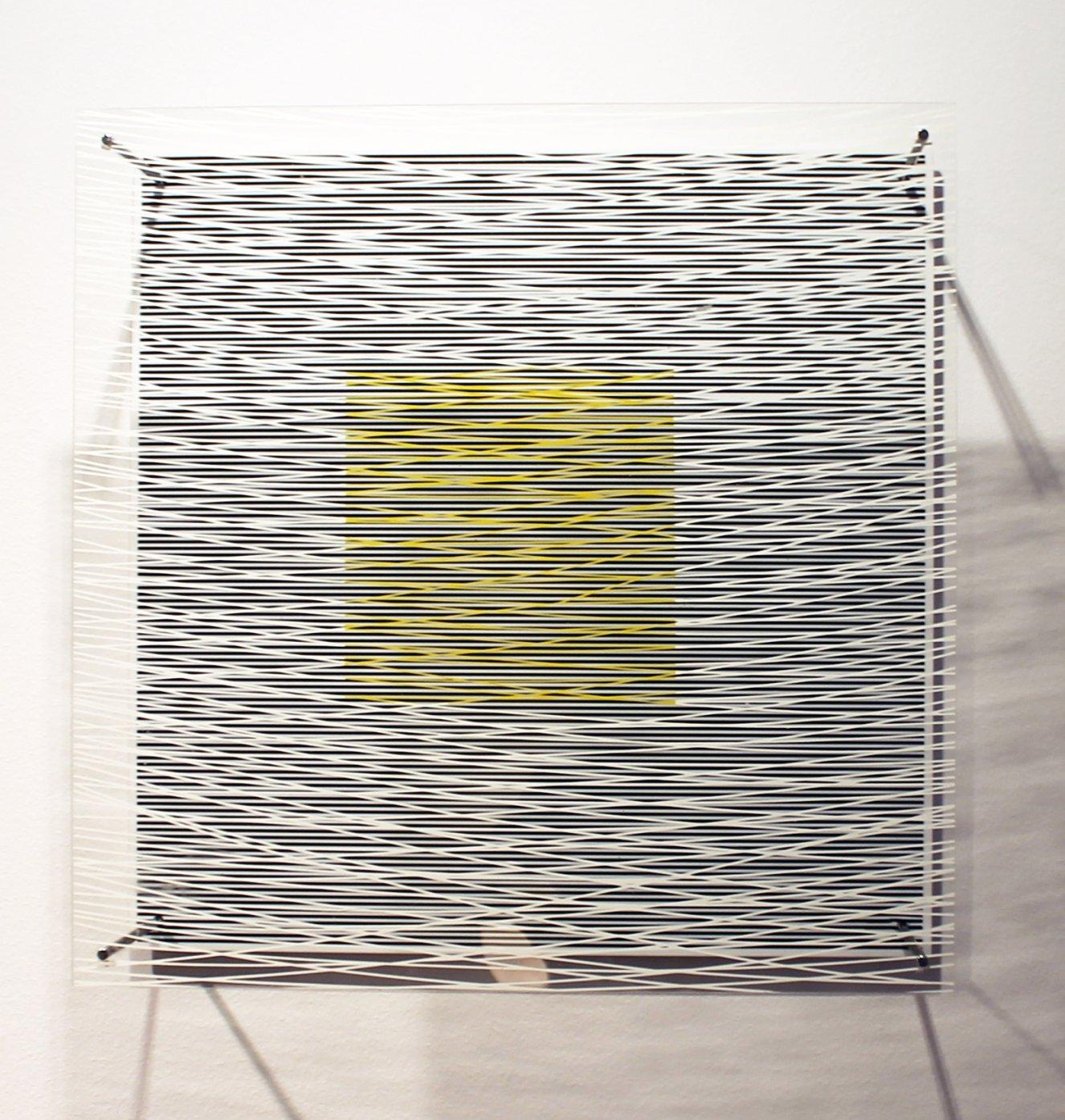 Cuadrado y curvas virtuales (1979) - Jesús Rafael Soto - Jesús R. Soto