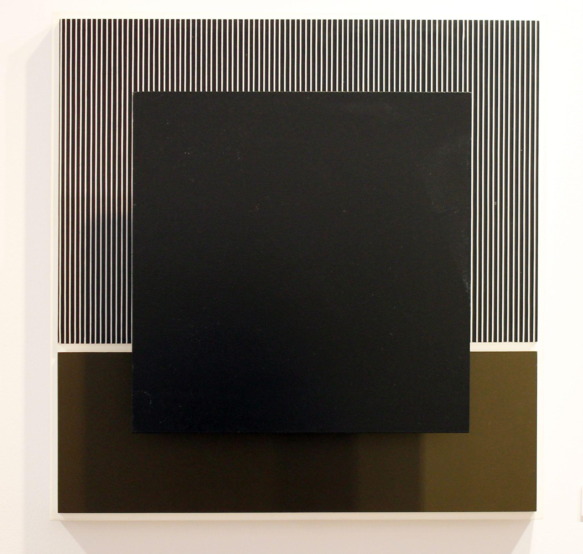 Negro y oliva (1989) - Jesús Rafael Soto - Jesús R. Soto