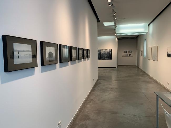 """Vista de la exposición """"Mirar el tiempo"""" de José Antonio Ochoa"""