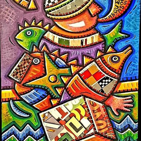 Caja de pescado (2015) - Alfredo Sosabravo