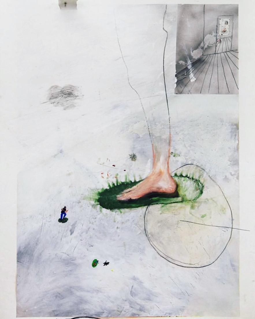 Pé (Foot) (2020) - Rafael Fráguas