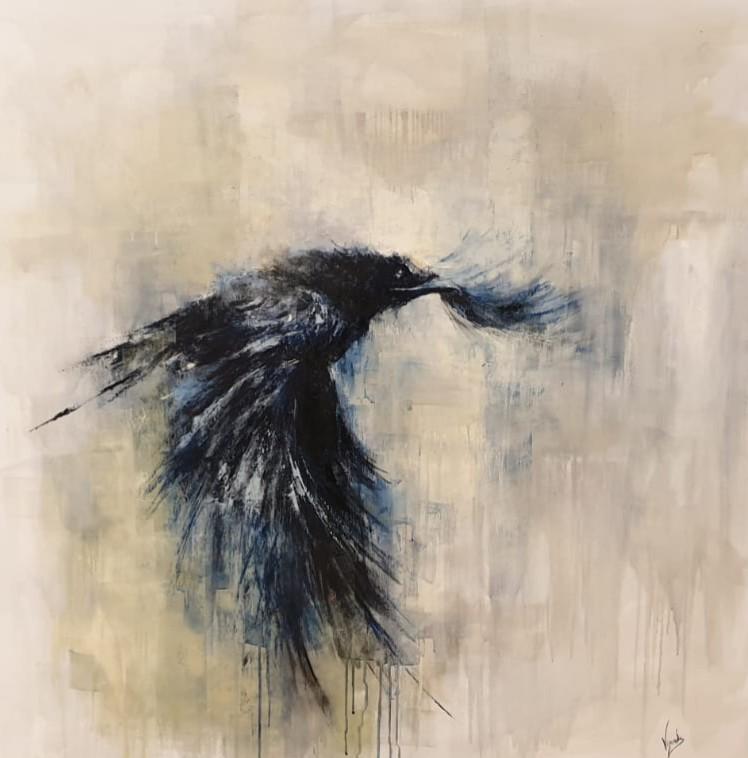 El cuervo (2019) - Andrés Vijande