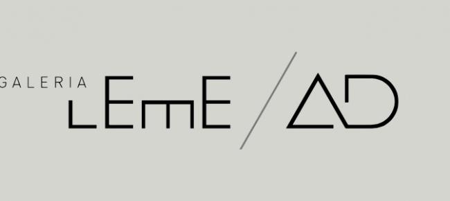 Logotipo. Cortesía de Galería Leme/AD