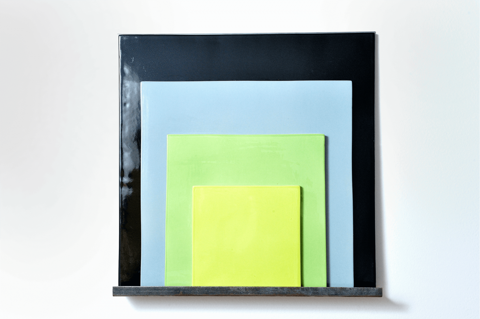 """Sin título, de la serie """"Albers"""" (dos piezas) (2011) - Jose Dávila"""