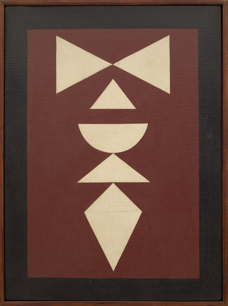 Composição (1961) - Rubem Valentim