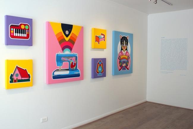 Exposición Felipe Santander
