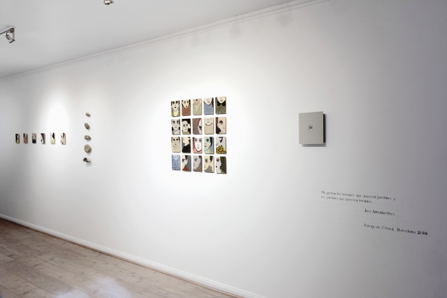 Exposición Paisaje de Cristal de Andrea Lería