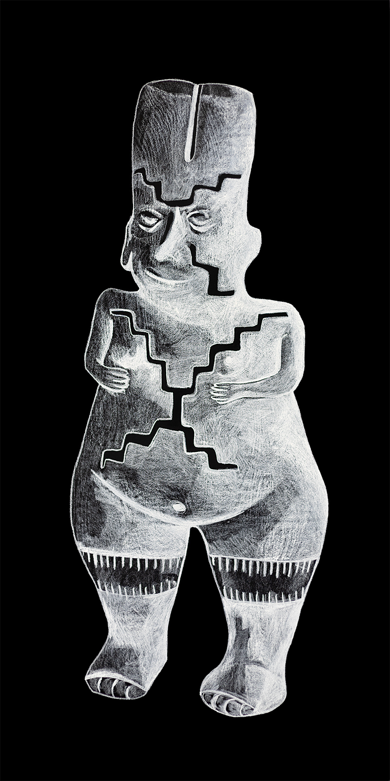 BEATING BACK DARKNESS - UNTITLED II (2019) - Diana Policarpo