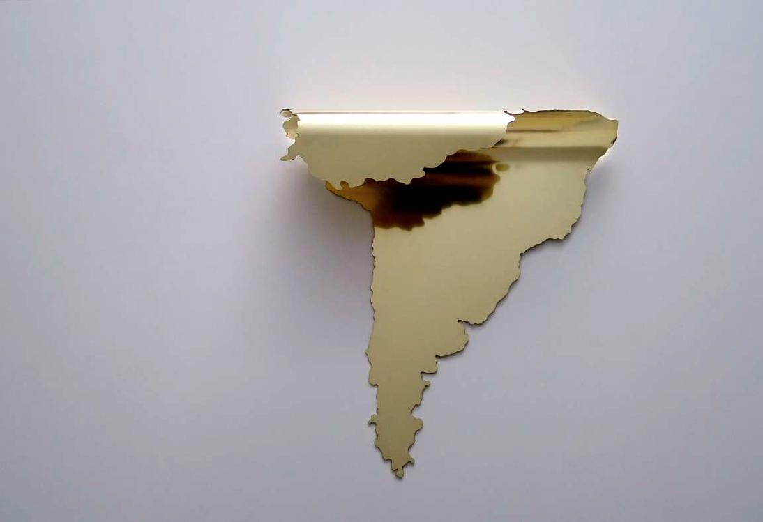 Continentes Plegados (América del Sur) (2019) - Marina Camargo