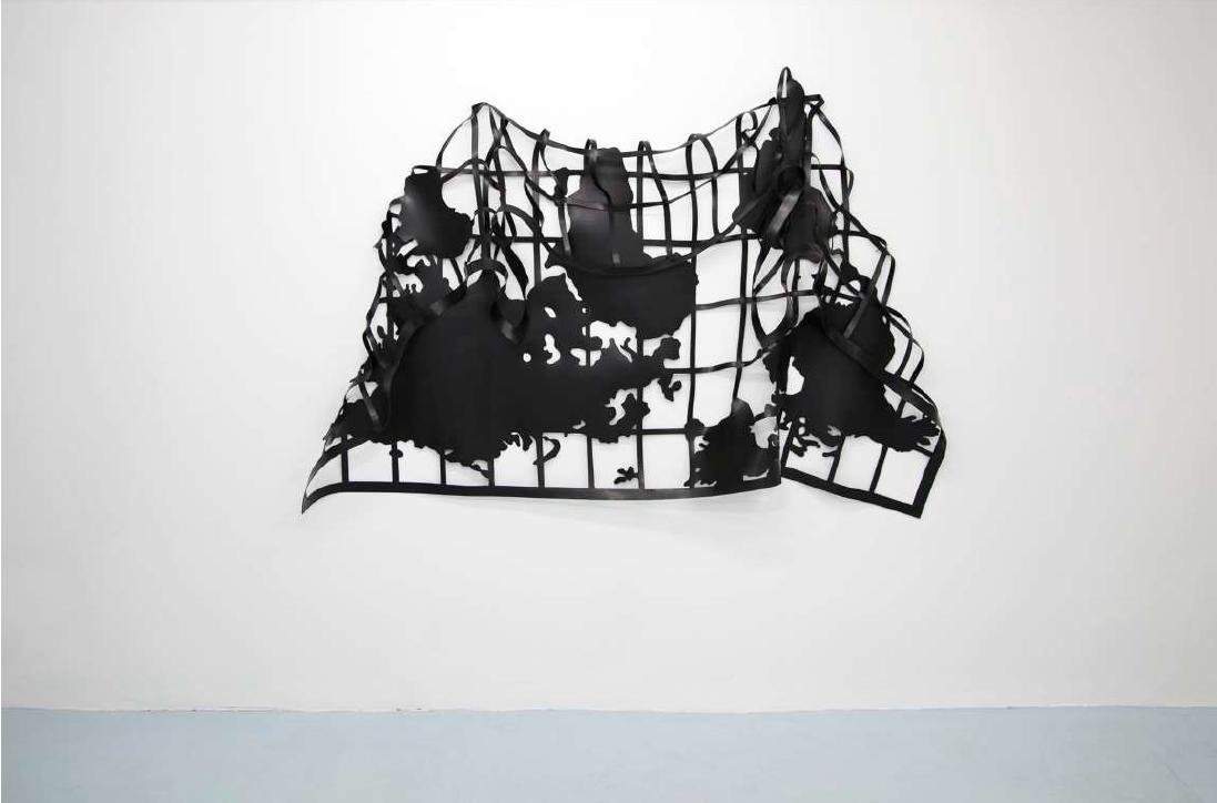 Mapa-mole I / Soft-map I (2019) - Marina Camargo