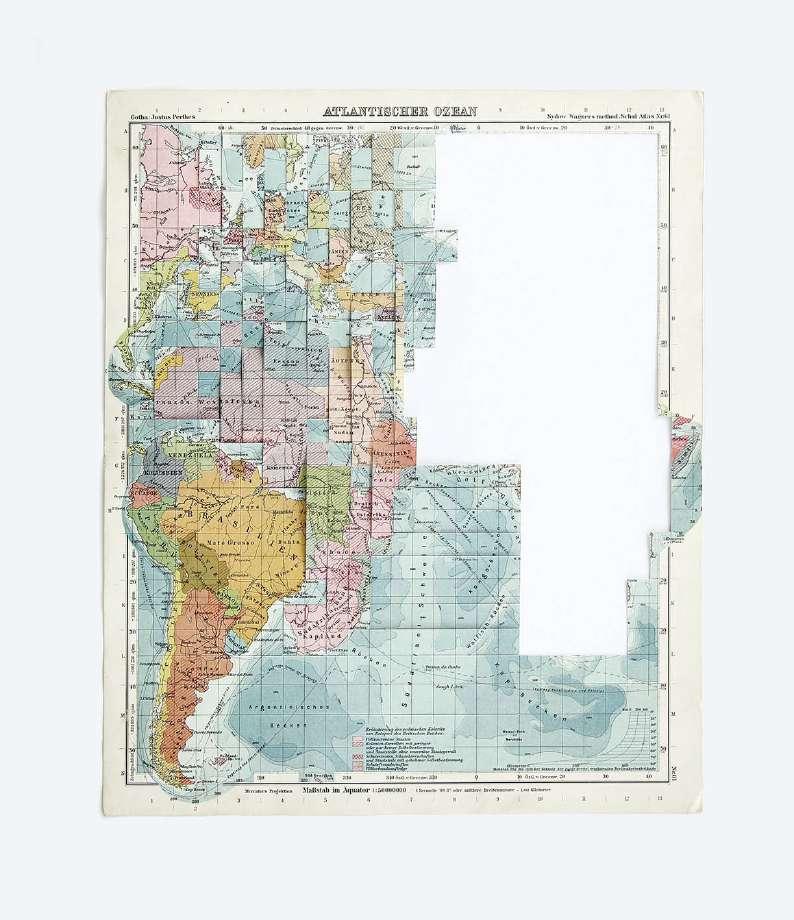 Teoría de los continentes contiguos (Océano Atlántico) (2019) - Marina Camargo