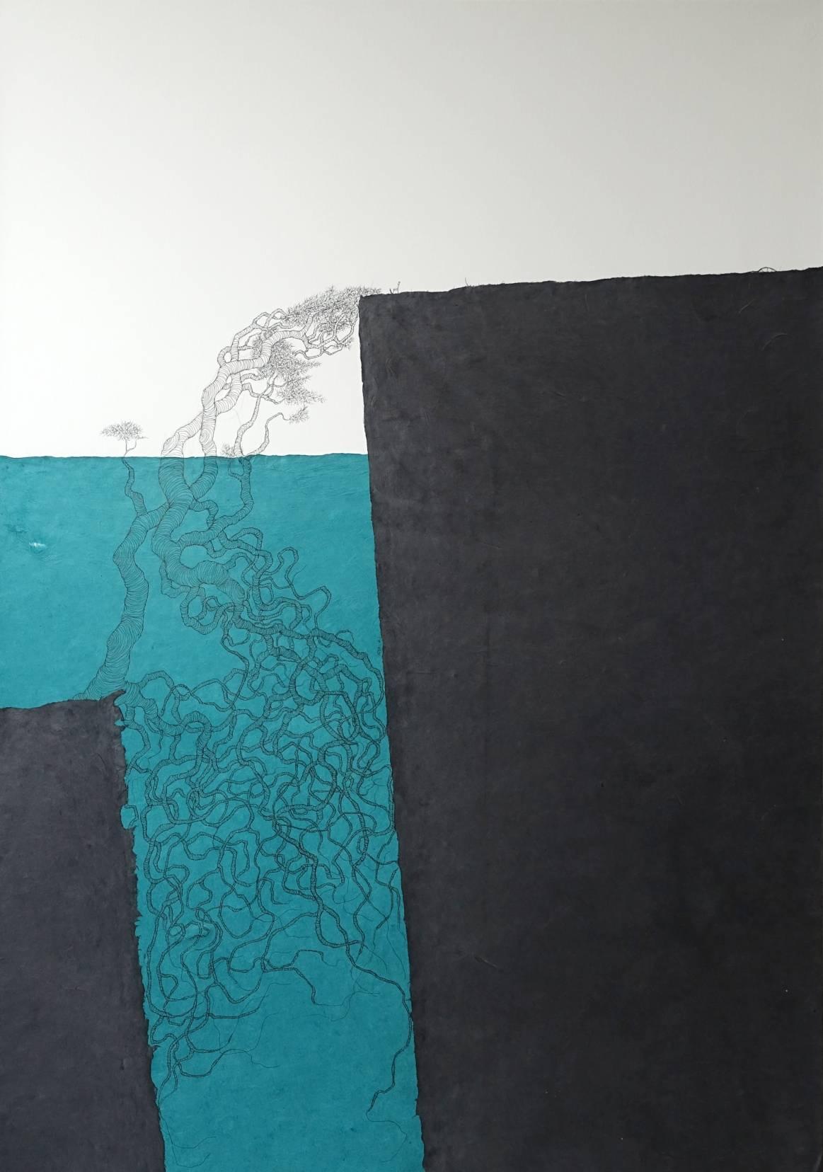 Silla y Árbol. Súplica en Azules (2020) - María Ángeles Atauri