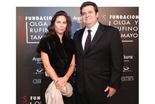 Isabel y Agustín Coppel