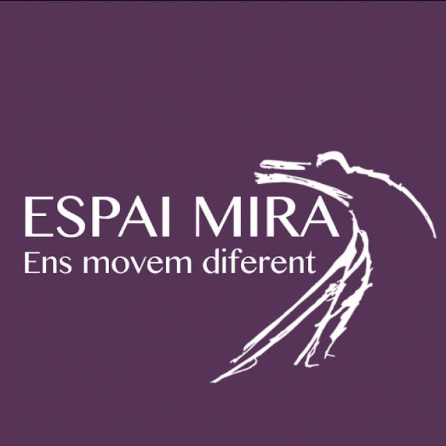Logo Espai Mira, ens movem diferent