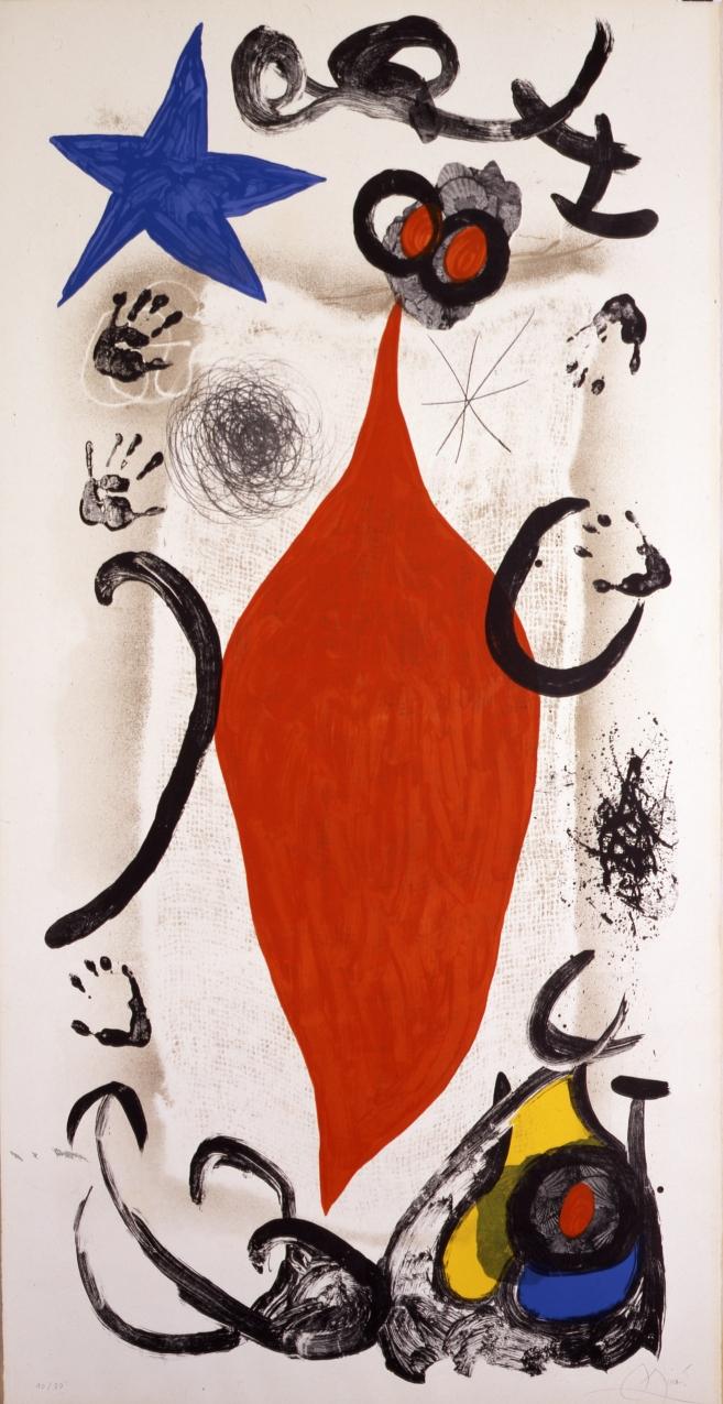 La gran vendedora de ostras (1973) - Joan Miró