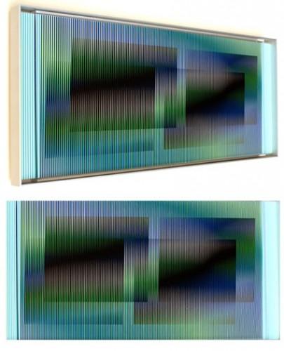 chromointerference manipulable marion C, 2010 (2010) - Carlos Cruz-Diez
