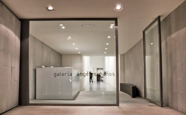 Vista de la entrada. Cortesía de la Galería Ángeles Baños