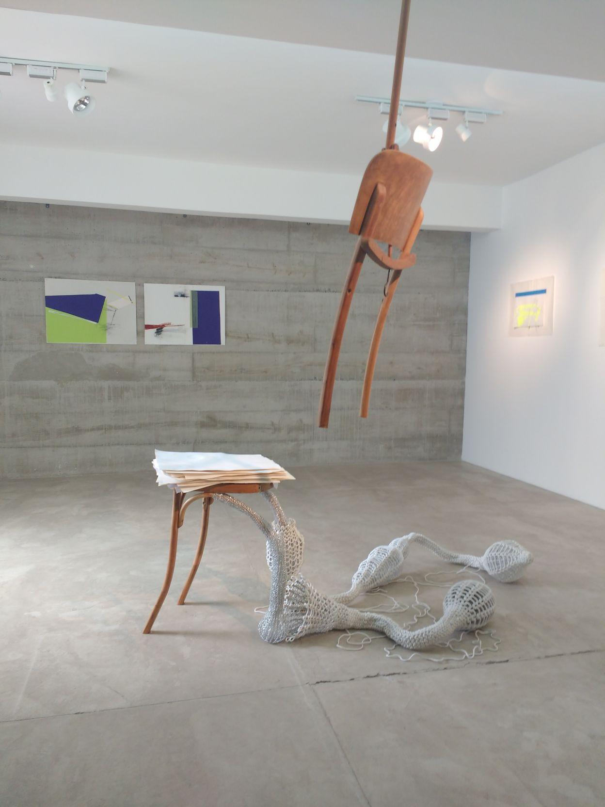 Arte Colaborativa - Casa em transformação (2017) - Claudia França e Cristhina Barros