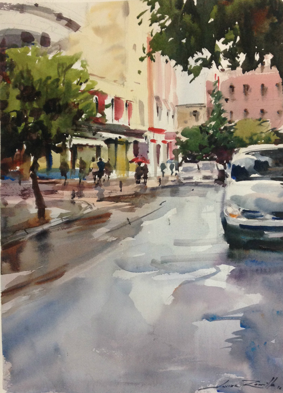 Reflejos en la calle (2016) - Javier Zorrilla