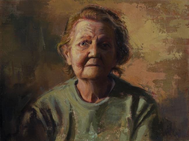 Evangelina Esparza, Pintura.