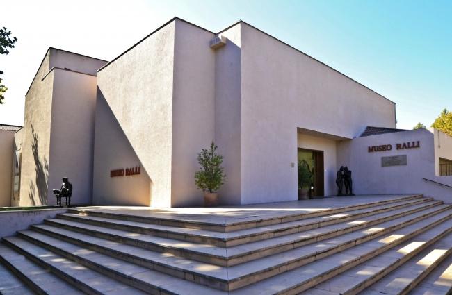 Fachada Museo Ralli Santiago