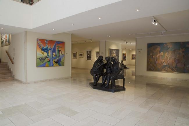 Comienzo del recorrido, Museo Ralli Santiago