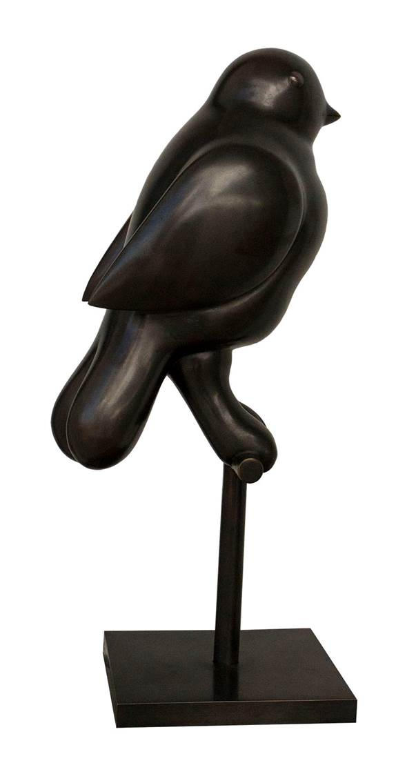 Uccellino sul trespolo (2006) - Fernando Botero