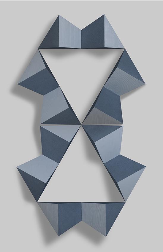 Cadena de Hexaedros I (2011) - María Suardi