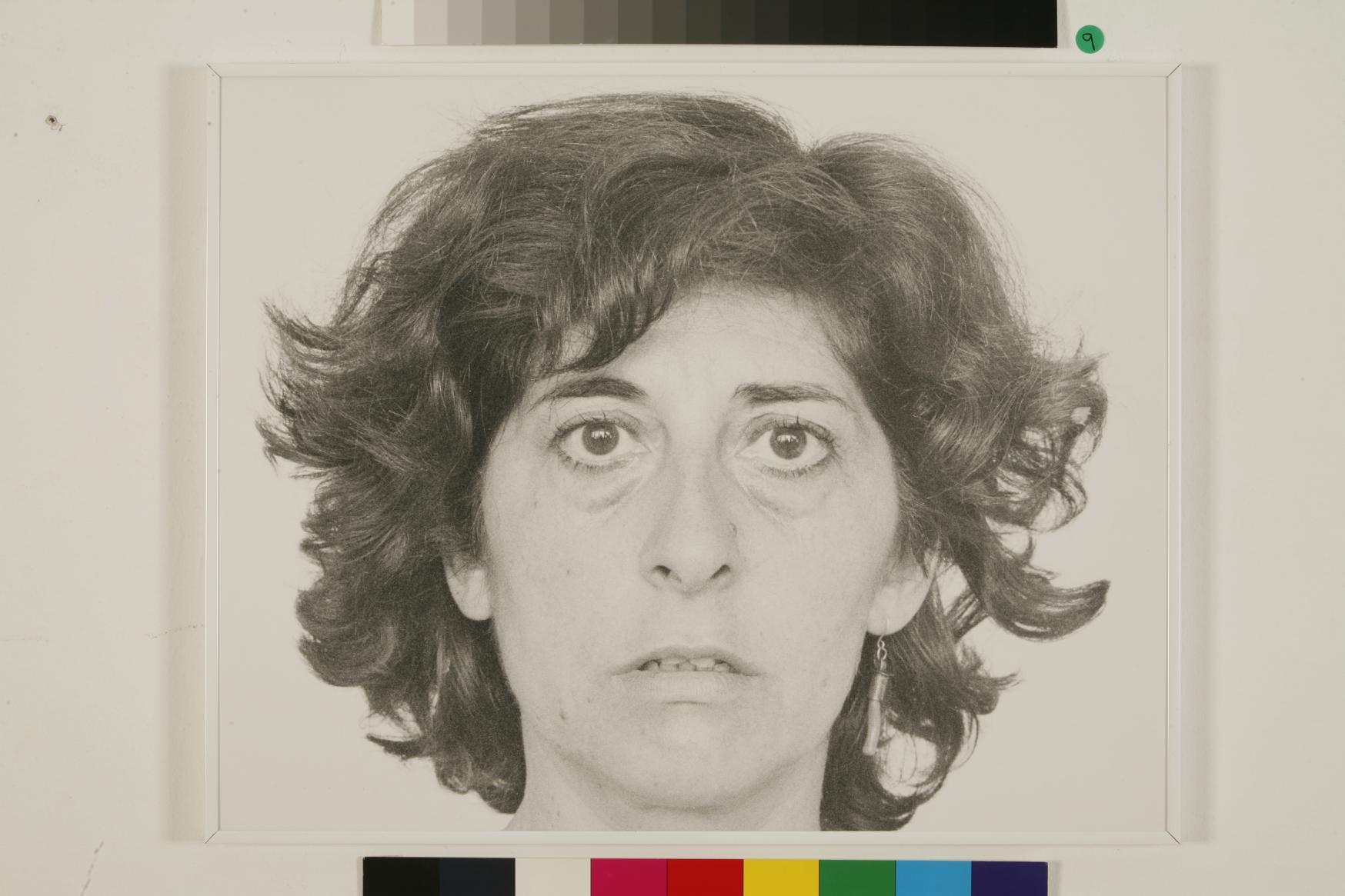 Autorretrato en el espacio (De la nada a la nada), a os 80 (1987) - Esther Ferrer