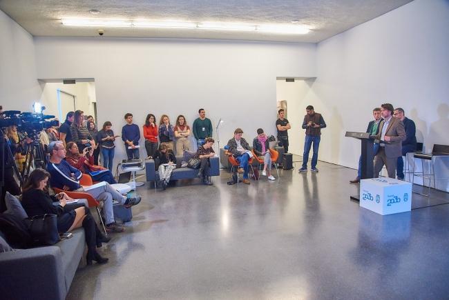 Presentación de TEA-Memoria 2018. Cortesía del TEA Tenerife Espacio de las Artes