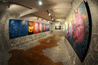 Montana Gallery Barcelona - Aryz