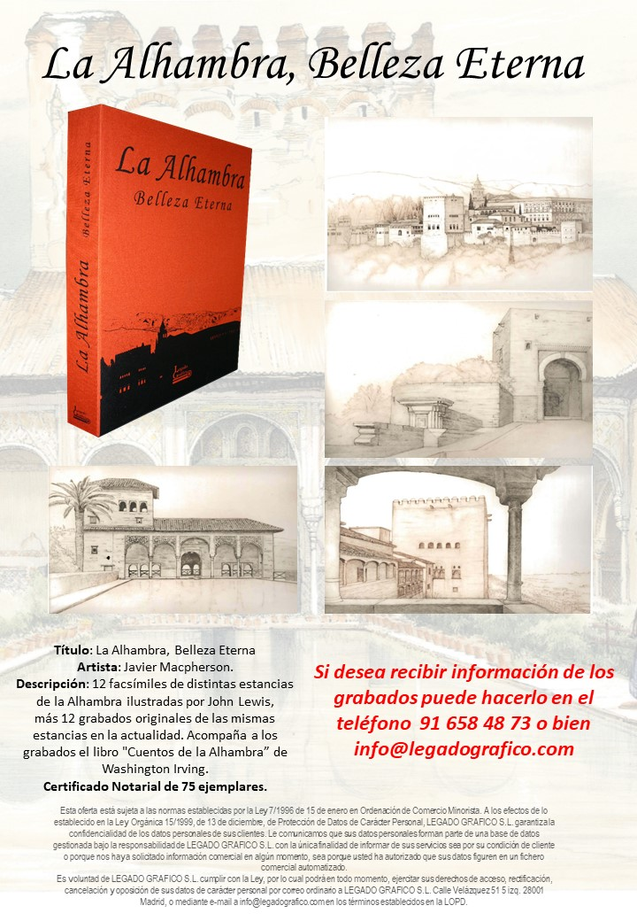 La Alhambra, Belleza Eterna (2018) - Xavier Macpherson Monegal