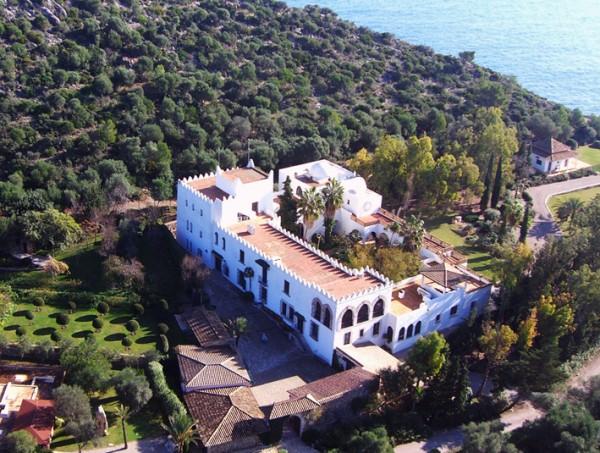 Museo Sa Bassa Blanca. Vista aérea.