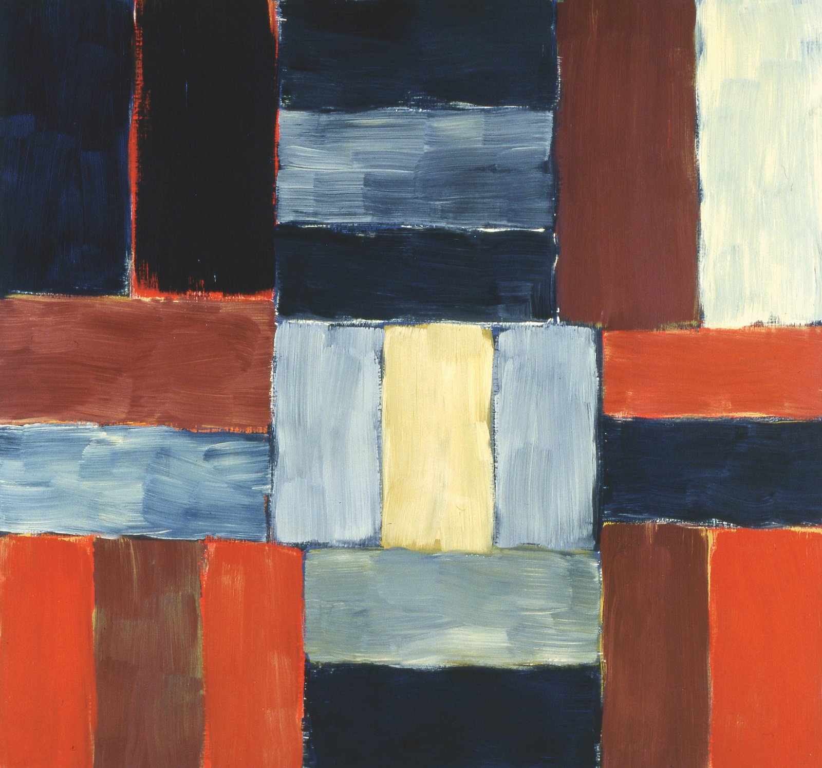 Wall of light (1999) - Sean Scully