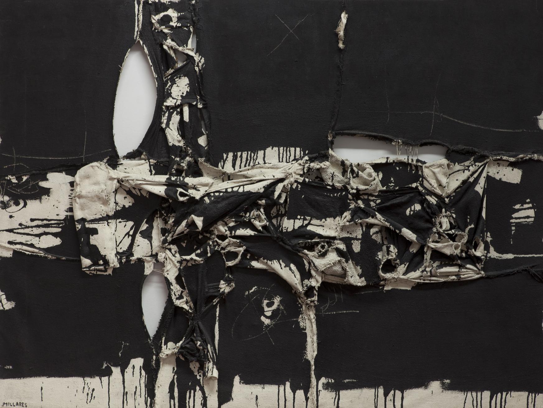 Cuadro 92 (1961) - Manolo Millares
