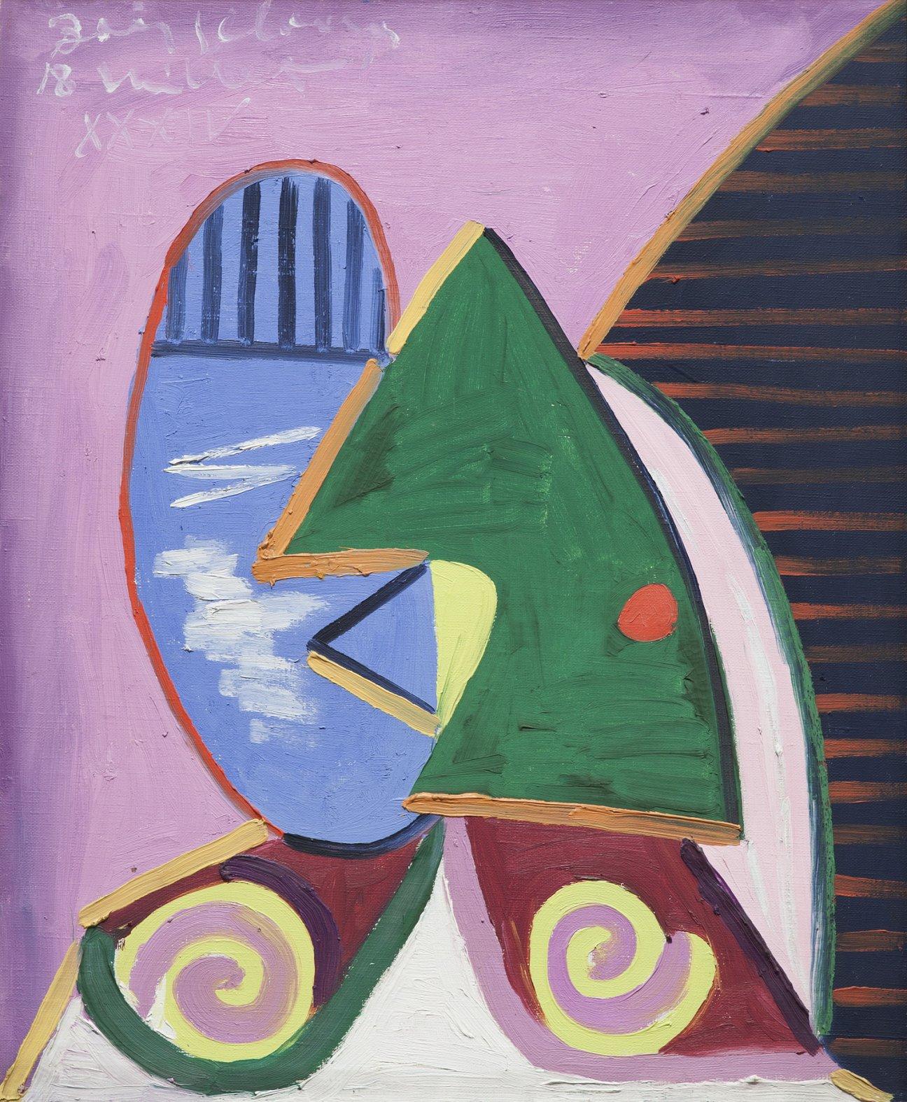 Profil a la fenêtre (1934) - Pablo Picasso