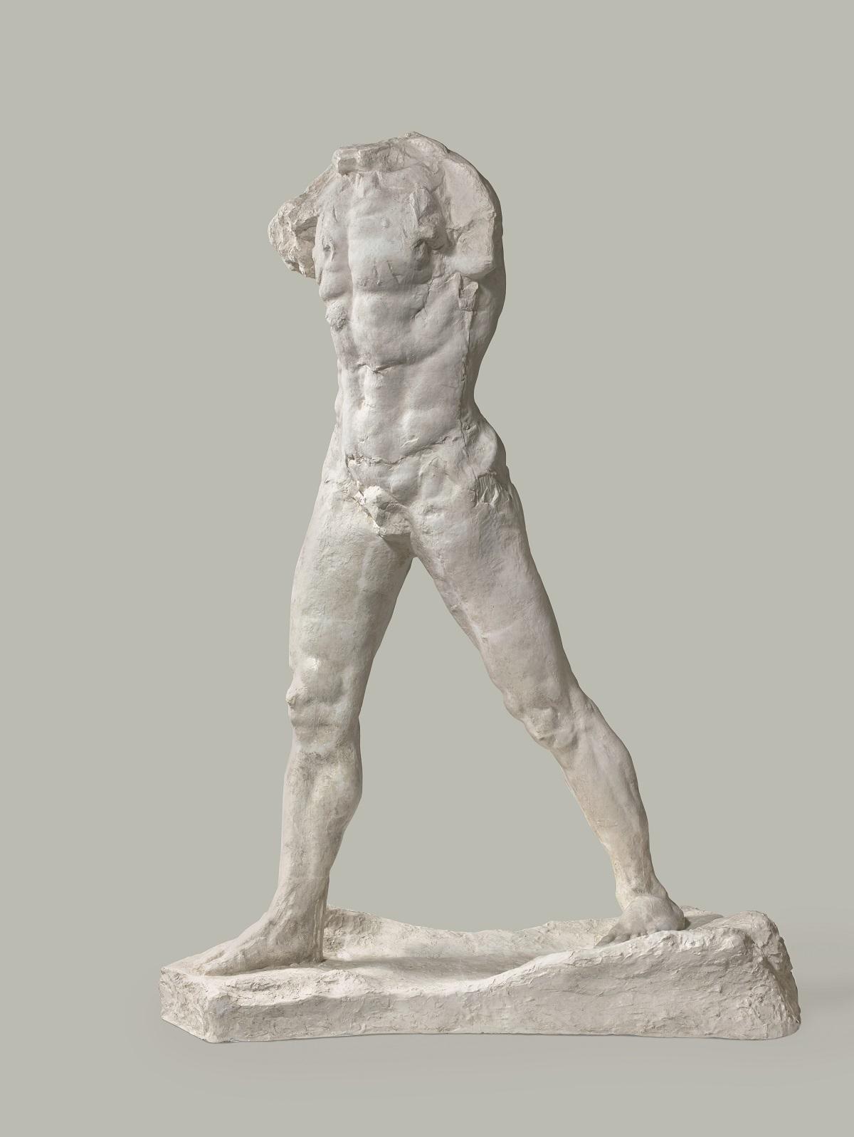 L'Homme qui marche, grand modèle [El hombre que camina, modelo grande] (1907) - Auguste Rodin