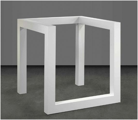 Incomplete Open Cube 8/5 (1974) - Sol LeWitt