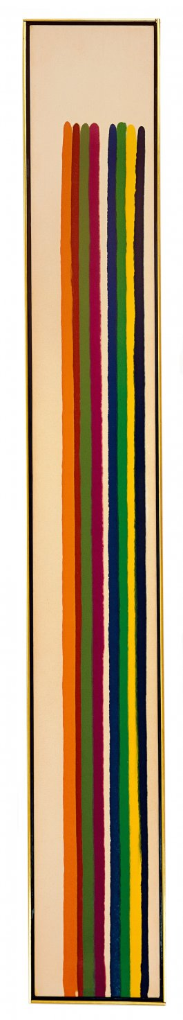 One and Two (1962) - Morris Louis Bernstein
