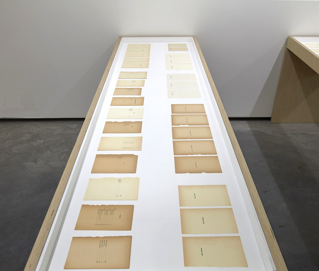 Páginas I (2013) - Ignasi Aballí