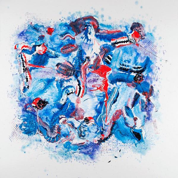 Homenaje a Picasso epoca azul (2013) - Blanca Cuesta