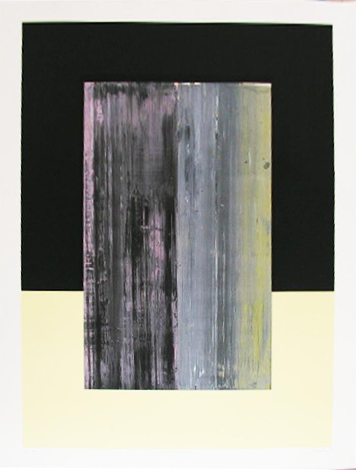 Rastrojera, Obra Gráfica Original de Rafael Canogar