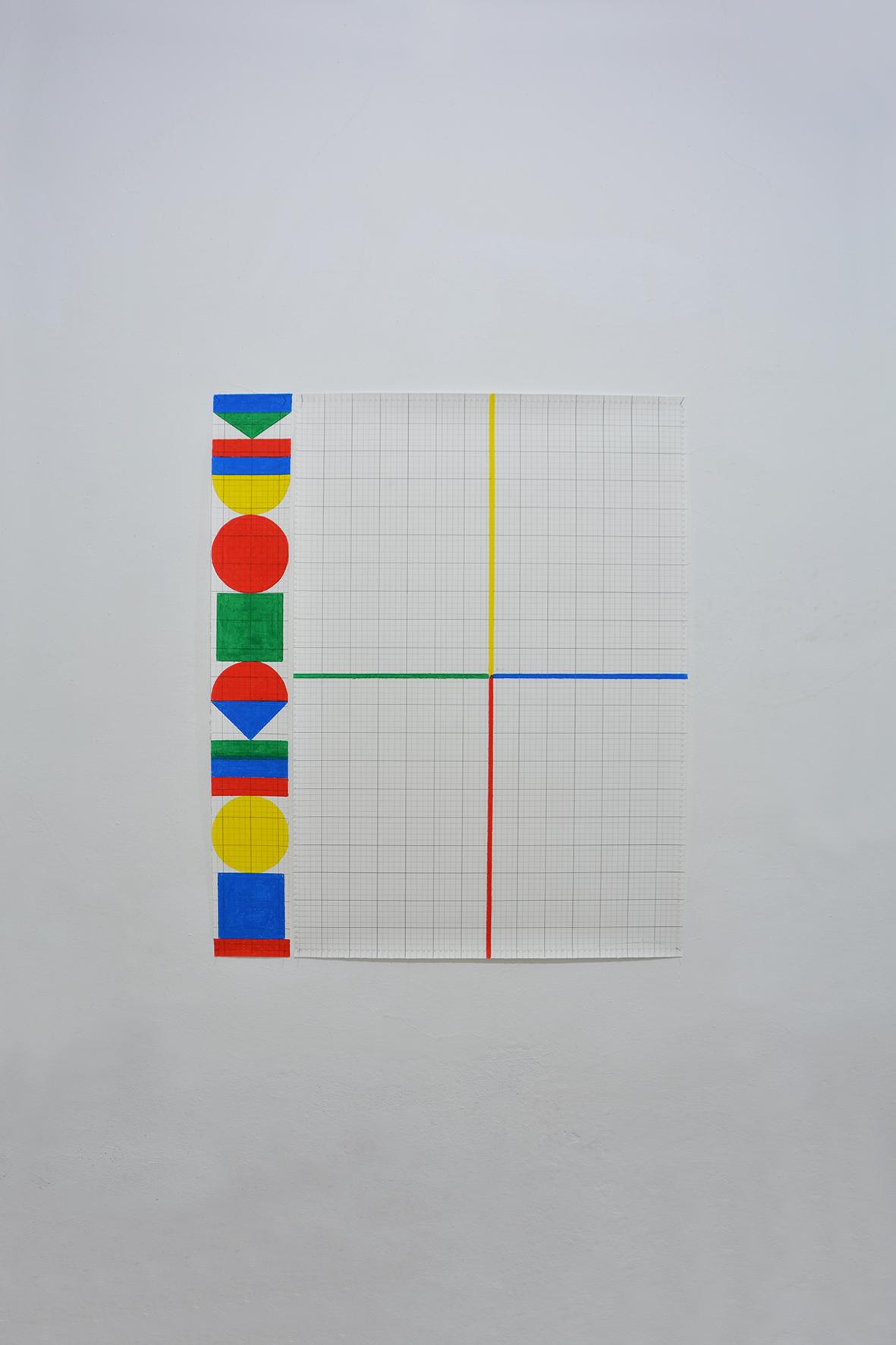 Totem and measurement basis (2020) - Miguel Ángel Cardenal López