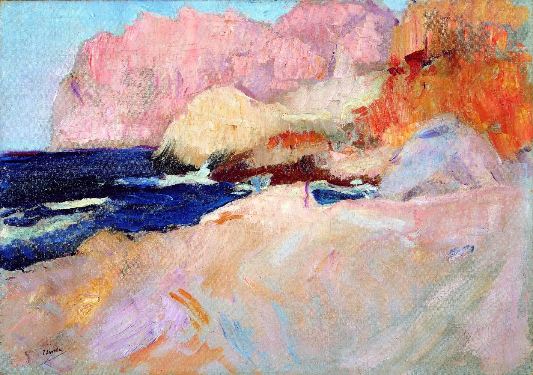 Cala de San Vicente, Mallorca (1919) - Joaquín Sorolla