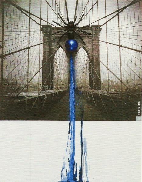 Anna Bella Geiger - Flumenpont nº1, Universe, New York