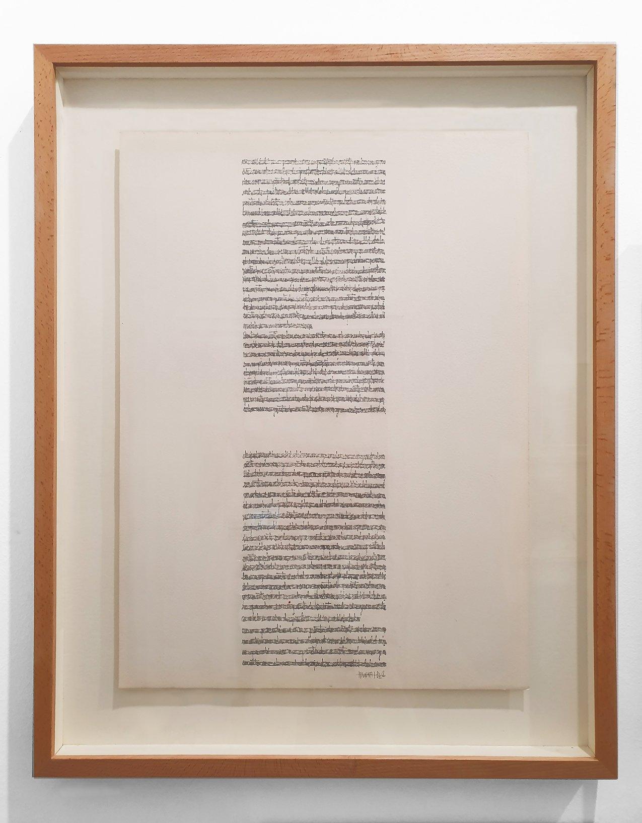 Textos autocensurados y borrados 1. Cuaderno 2 (1976) - Concha Jerez