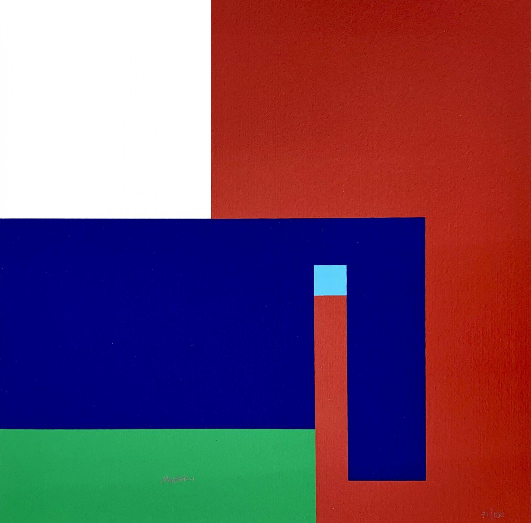 Variazioni cromatiche (2020) - Bruno Munari