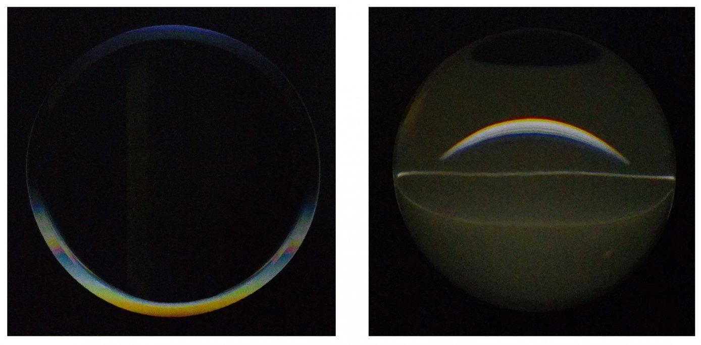 Outside - inside / Blacklight mirror (2005) - José Maldonado