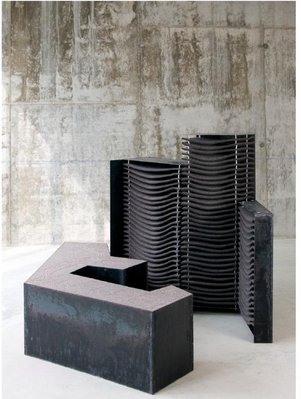 Apilamiento portuario (2007) - Esther Pizarro